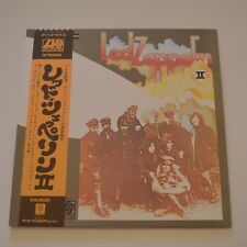LED ZEPPELIN - LED ZEPPELIN II - JAPAN LP 1971 WITH POSTER