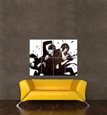 Poster anime manga print caractères ciel Sebastian Black Butler cadeau seb428