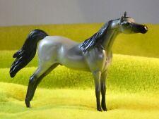 "Peter Stone Arabian Model Horse Chip , "" Kandellight "" Silver grey"