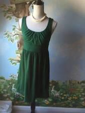Ann Taylor Loft Women Green Sleeveless Cotton Dress SZ XS NWT