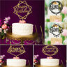 Happy Birthday Cake Topper Acrylic Birthday Party Decoration Supplies 9 Patterns