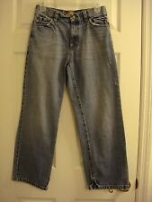 Boy's Old Navy OND Factory Distressed Jeans Size 14 Reg 28 x 27