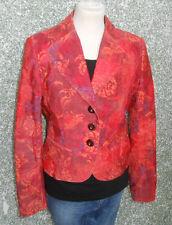 20 306h/6 MARC AUREL mujer chaqueta blazer talla 34 Rojo Naranja Baya Púrpura