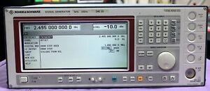 ROHDE & SCHWARZ SME03 SIGNAL GENERATOR  5 Khz - 3 Ghz