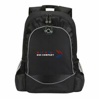 NATIONAL BUS COMPANY RETRO BACK PACK BAG RUCKSACK BLACK NATIONAL EXPRESS COACH