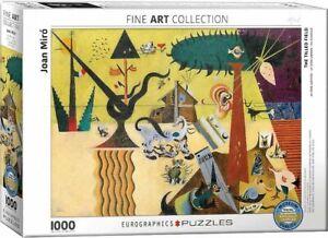 Eurographics 1000 Piece Jigsaw Puzzle Joan Miro The Tilled Field EG60000858