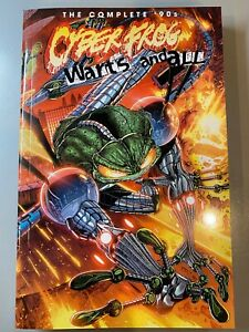 The Complete '90s CYBERFROG: WARTS AND ALL TPB Softcover collection!