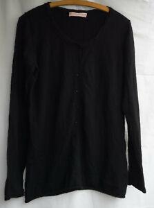 Pullover  schwarz  FTC 100% Cashmere Gr. XL