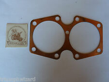 Triumph Motorcycle  Replacement 750 cc Big Bore Head Gasket  . 021 Thick