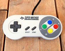 Genuine Super Nintendo SNES Vintage Video Game Controller Official Joypad #A