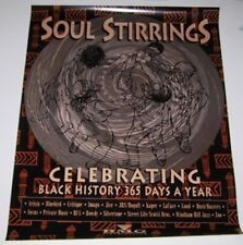 Black History Month  Tribute Martin Luther King / Soul Stirrings 1994  2 POSTERS