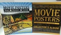 Collectible Movie Posters Collector Cards Album Binder 2 Binder LOT With PROMOS