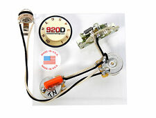 920D Custom Shop Ibanez RT RG Wiring Harness CRL 5-way CTS 500K Gavitt Vai