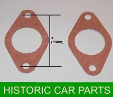 2 SU HV5 Carb to Inlet GASKET for Armstrong Siddeley Sports Special 30hp 1934-59