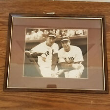 JOE DIMAGGIO & TED WILLIAMS REPRINT PHOTO NY YANKEES BOSTON RED SOX