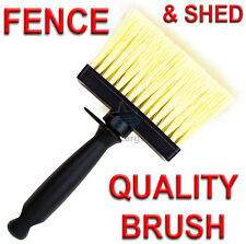 "New Large 4"" (100 x 30mm) Wide Fence And Shed Decking Painting Paint Brush Paste"