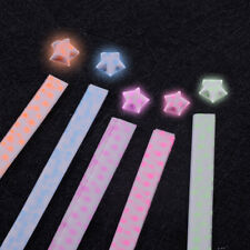Beautiful Folding 100Pcs Crafts Gift Paper Strips Origami Lucky Star Luminous
