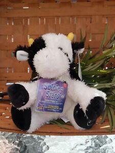Russ Shining Stars Cow Stuffed Animal Plush Toy SEALED CODE NWT