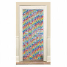 Fabric Flower Door Curtain