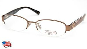 NEW COACH HC 5030 BETSY 9002 SAND EYEGLASSES FRAME 52-17-135mm B32mm