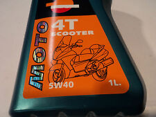 1 Liter REPSOL 4T Scooter Aceite 5W40 Aceite de motor Aceite lubricante