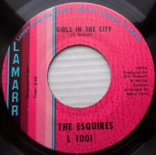 ESQUIRES northern soul 45 GIRLS IN THE CITY / AIN'T GONNA GIVE IT UP vg++  F628