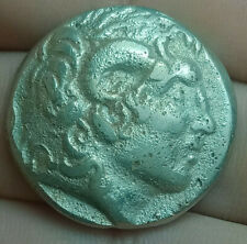 Alexander the Great (336-323 BC)Exquisite Drachm Ancient Greek Silver Coin 15.9g