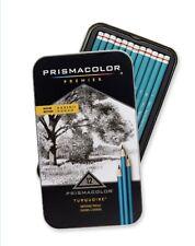 Prismacolor 24192 Premier Turquoise Graphite Sketching Pencils, Medium Leads,...