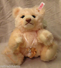 "❤STEIFF SWAROWSKI CRYSTAL TEDDY 2007 BEAR JEWELS 669873 10""LT ED Mohair JOINTED❤"