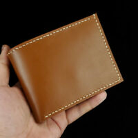 [NEW] Women's & Men's Leather Wallet With Coin Pocket - Brown