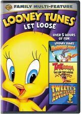 Looney Tunes: Let Loose Triple Feature [New DVD] Ac-3/Dolby Digital, Amaray Ca