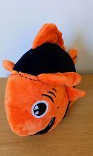 Peluche mascotte Poisson  FCL  Lorient Bretagne Sud orange noire