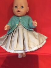 "4 Piece 17"" Dolls Clothes. . Fits Baby Born Dolls . And Similar Size Dolls."
