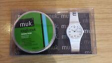 Mens Rough green muk forming cream  wax watch gift set 95g & 50g pot sale cheap