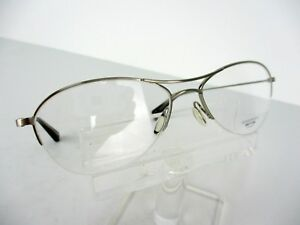 Oliver Peoples Asher (BC) Brushed Chrome 53 x 16 140 mm Eyeglass Frames