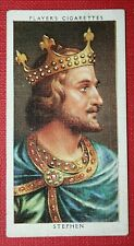 KING STEPHEN  of England   Vintage Small Portrait Card