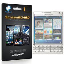 3 X 100% Genuino Membrana Marca Para Blackberry pasaporte-Protector De Pantalla