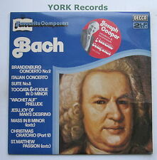 DPA 535/6 - BACH - Favourite Composers - Excellent Condition LP Record