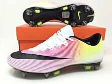 Nike Mercurial Vapor X SG-PRO Soccer Cleats Mens Size 6/Womens 7.5 (648555-108)