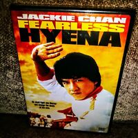 The Fearless Hyena - Jackie Chan (DVD) Martial Arts - Region 1 USA  SEALED! NEW!