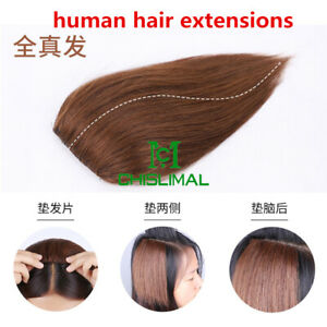 4 colors Mini Invisible Clips In Human Hair Extensions for Women Clip In hair