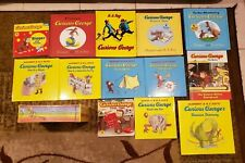 Lot 19 Curious George Picture & Level 1 YA Reader Books Margret & H A Reys 17 HC