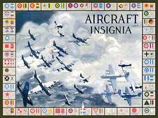WAR MILITARY PLANES FIGHTER AIRCRAFT INSIGNIA NEW FINE ART PRINT POSTER CC5676