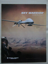 2009 GENERAL ATOMICS AERONAUTICAL SKY WARRIOR ER MP AIRCRAFT DRONE US ARMY