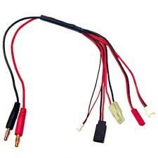 Racers Edge RCE1625 5-Function Mini/Micro Charge Adapter to Male 4mm