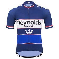 Reynolds aluminio Retro Cycling Jersey Short Sleeve