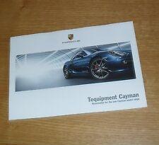 Porsche Cayman 981 Tequipment ACCESORIOS FOLLETO 2013