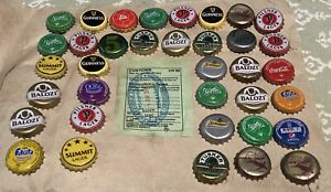 lot Kenya Africa bottle caps crown cap tops beer soda Tusker lager Sprite Coke +