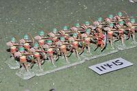 25mm biblical / assyrian - archers 20 figures - inf (11415)
