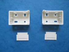 1 PAIR VENETIAN BLIND BOX BRACKETS FOR 39mm x 30mm TOP BOX